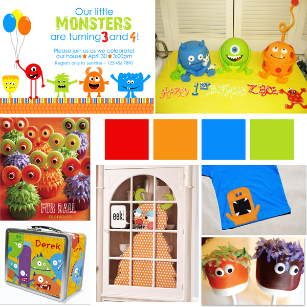 monster – Monster Party Invites