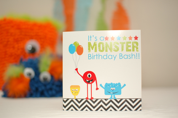 Monster Party Invitations – Monster Party Invites